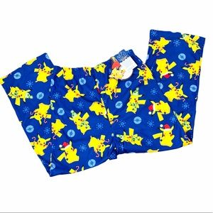 New! Boys Pokémon Christmas Pajama Bottom